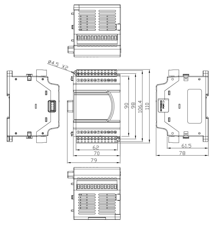 delta  analog i  o modules  dvp06xa