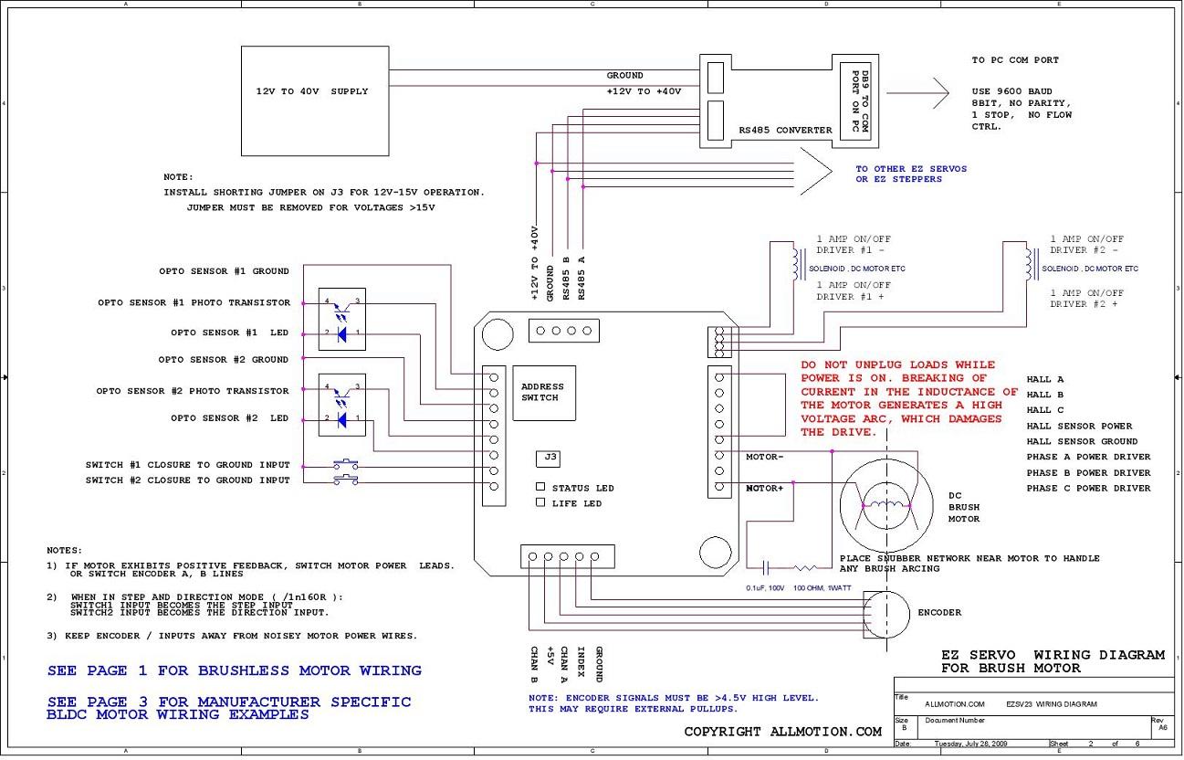 perfect wiring servodrive images